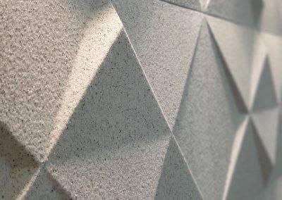 Plenus - acabamento mica de pedras - Arabesco branco