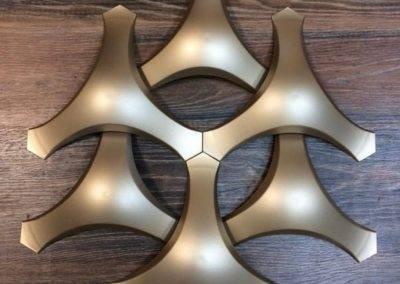 Tramas Metalazado Dourado