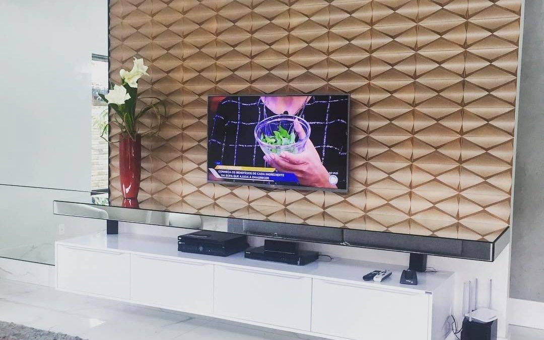Painel para Tv no Quarto