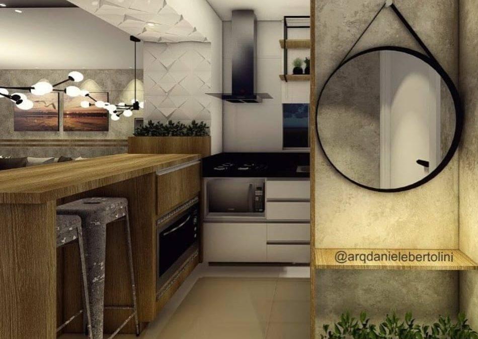 Painel  3d para Cozinha