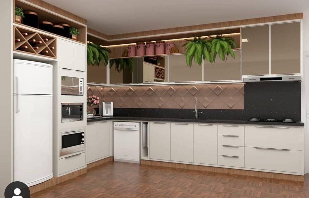 Placa de Revestimento 3D para Cozinha